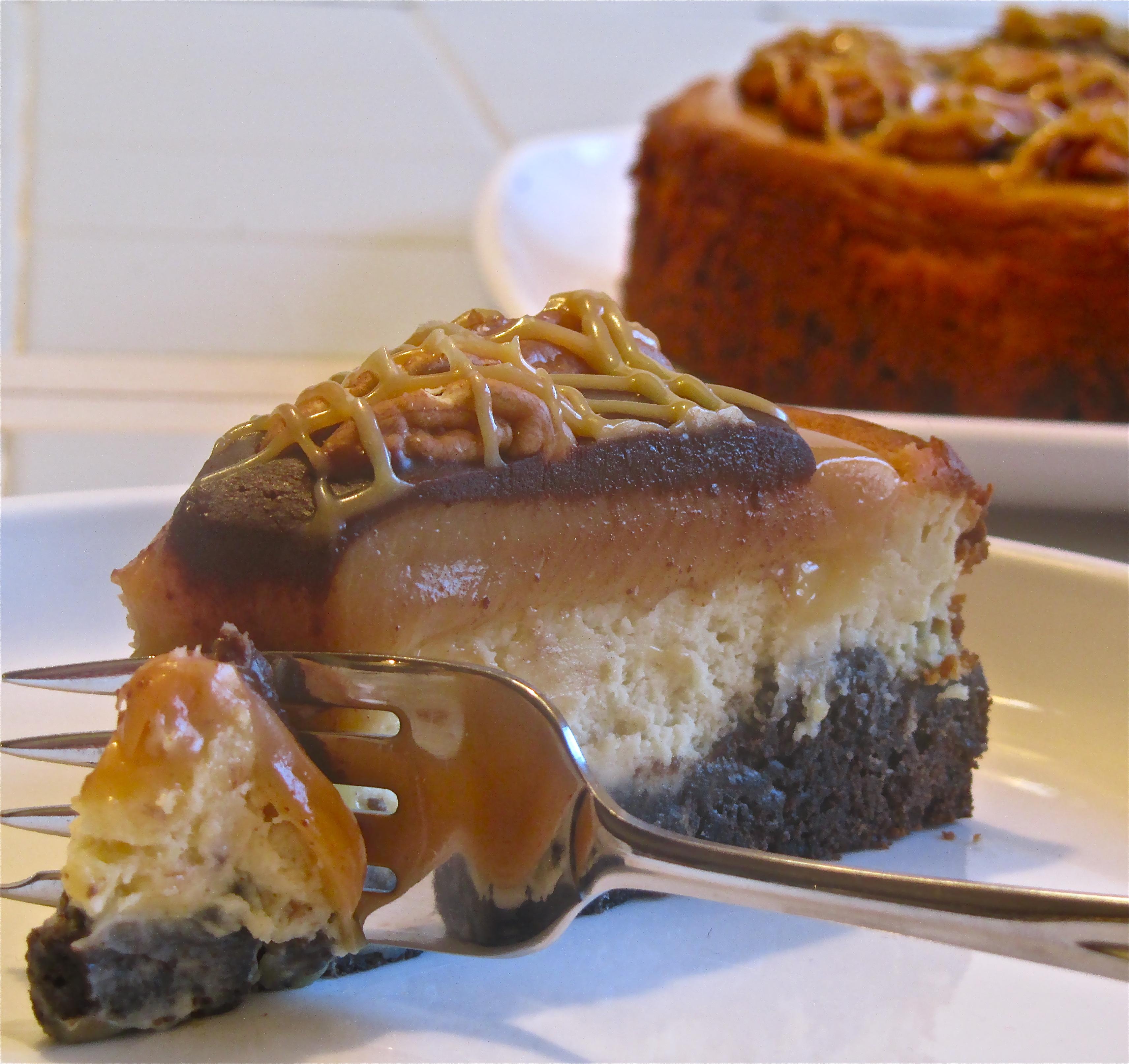 Turtle Cheesecake | eASYbAKED