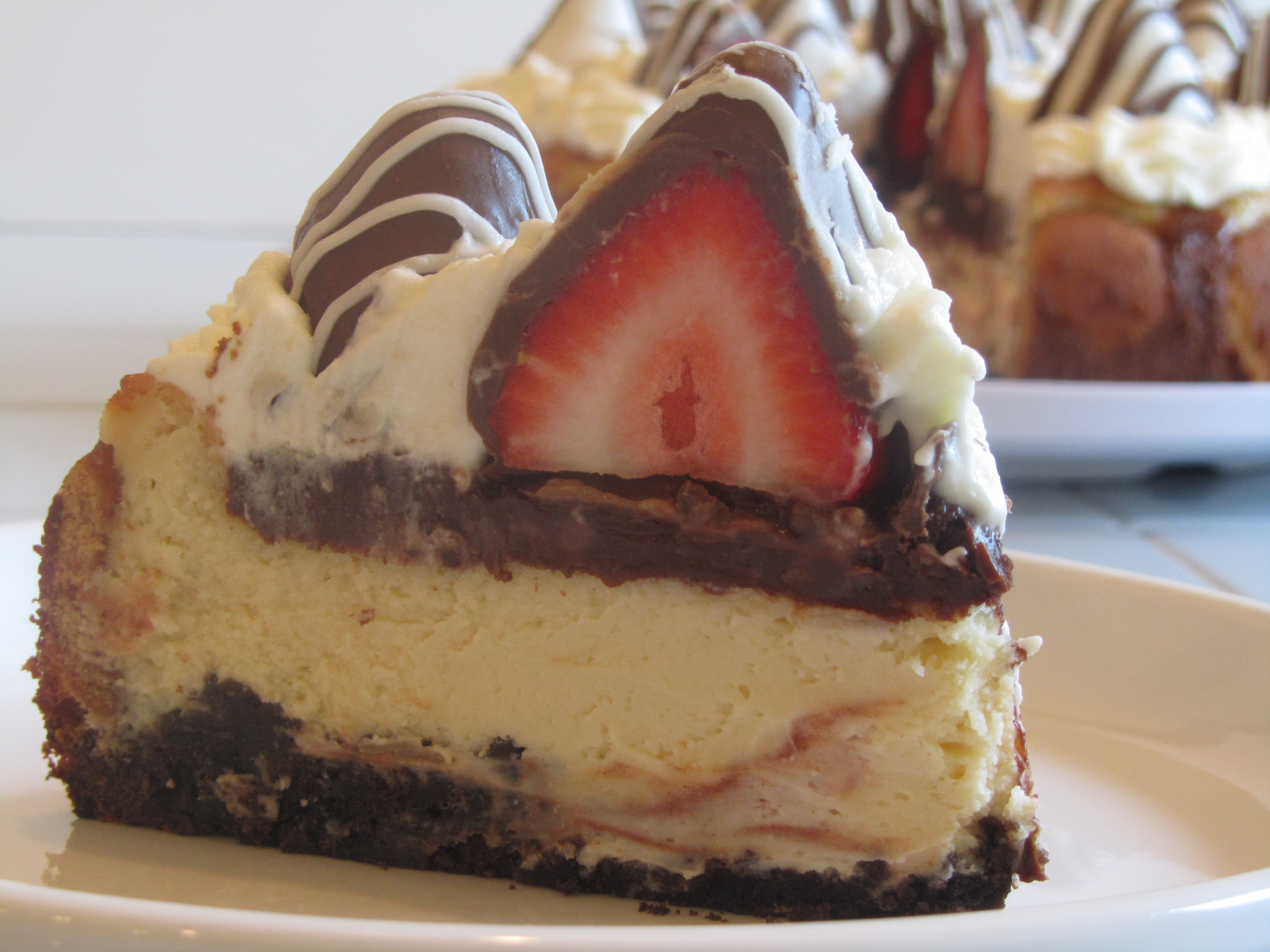 white chocolate cheesecake | eASYbAKED