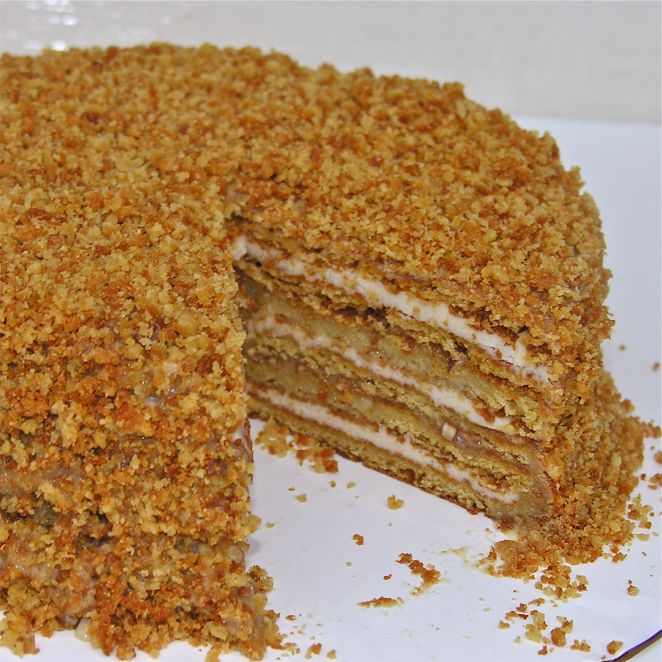 Layered Honey Cake Polish Recipe