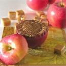Inside-out Caramel Apple!!