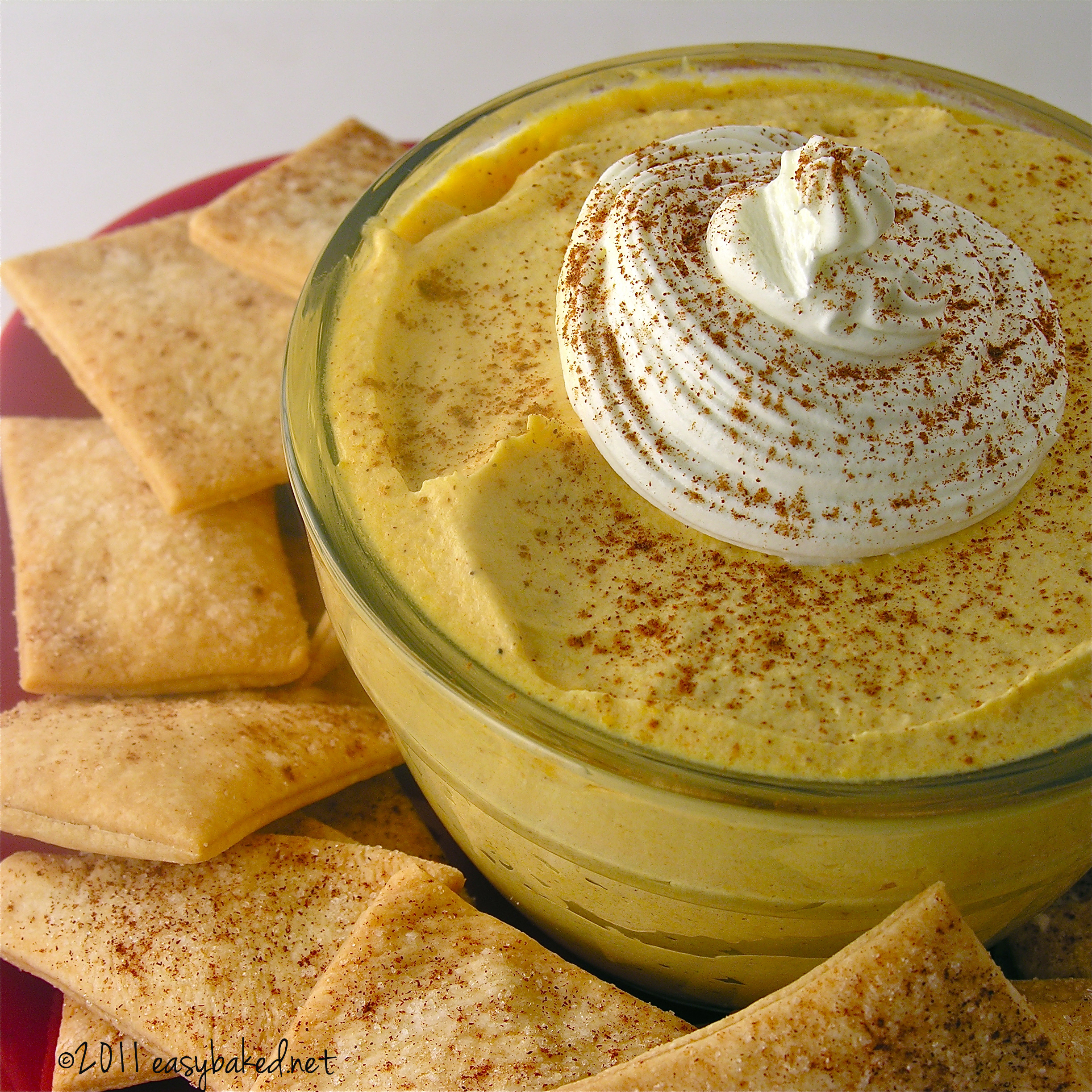 ... pie crust ready to dunk in a creamy pumpkin pie dip! This is the