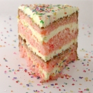 Strawberry Lemonade Birthday Cake!