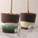 Hot Chocolate Pops!