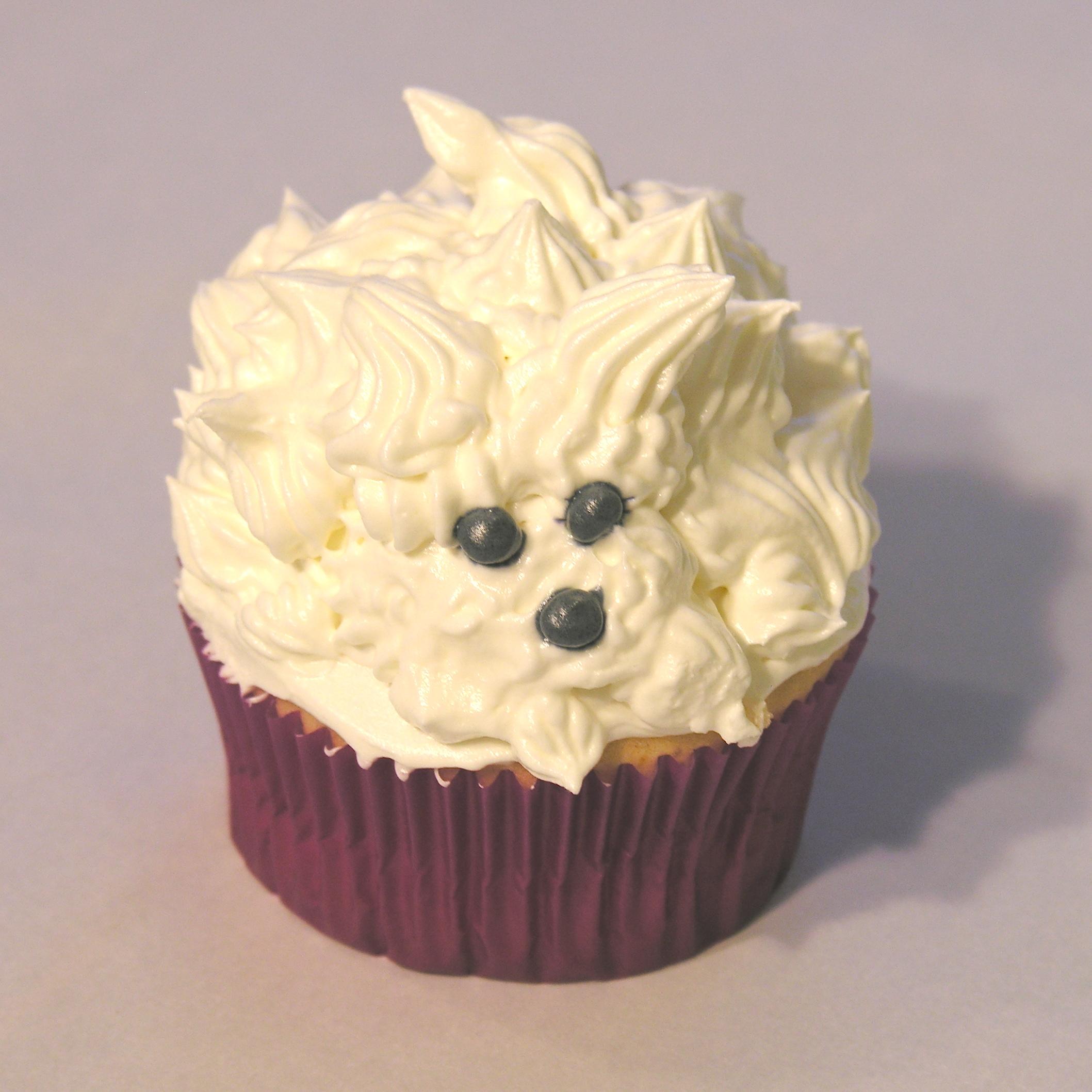 White Dog Cupcakes Easybaked