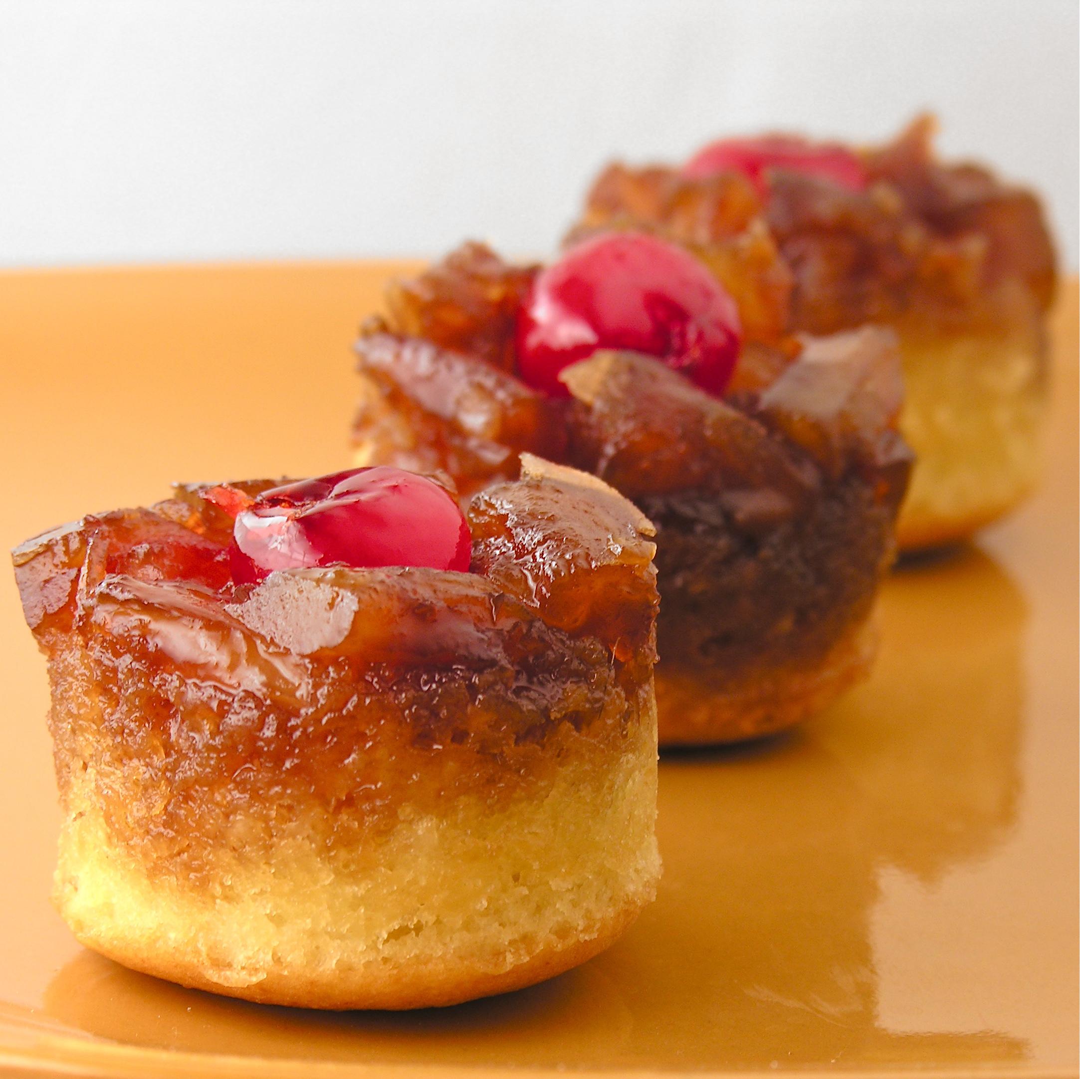 Mini Pineapple Upside Down Cakes | eASYbAKED