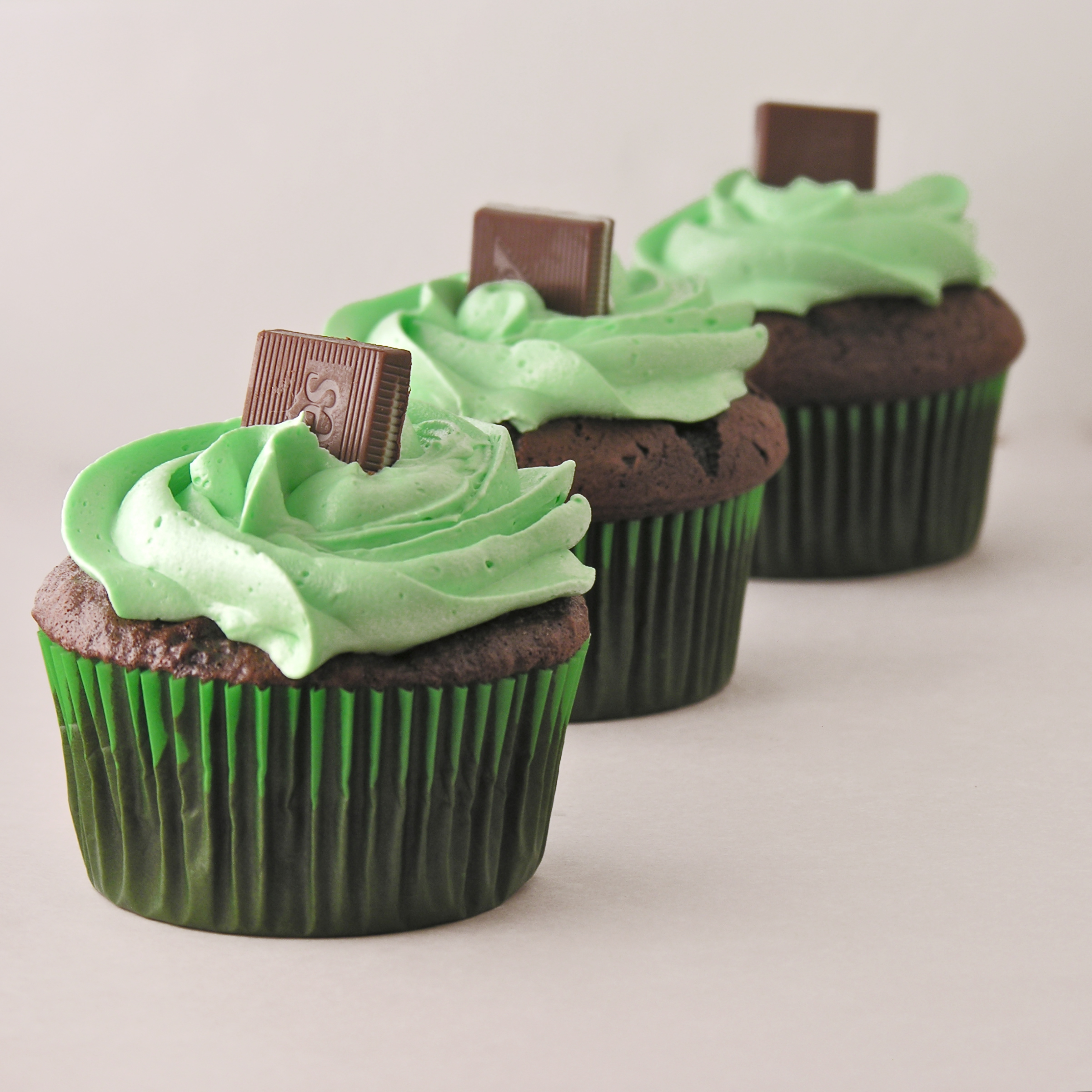 mint and chocolate. I was thinking about those yummy chocolate ...
