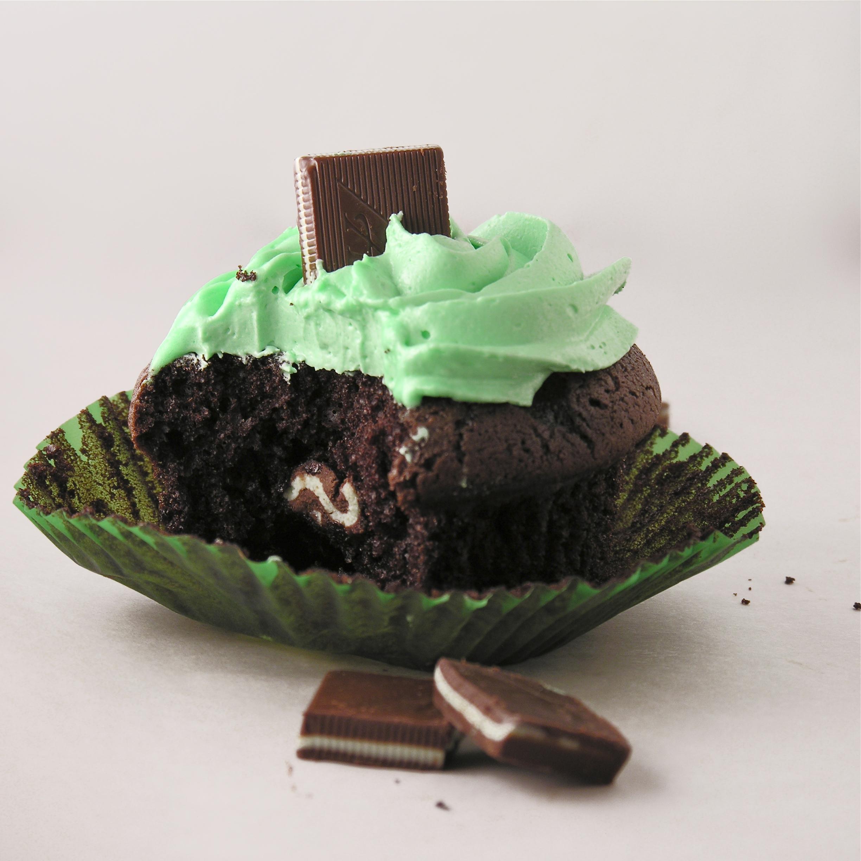 Grasshopper Mint Cupcakes Easybaked