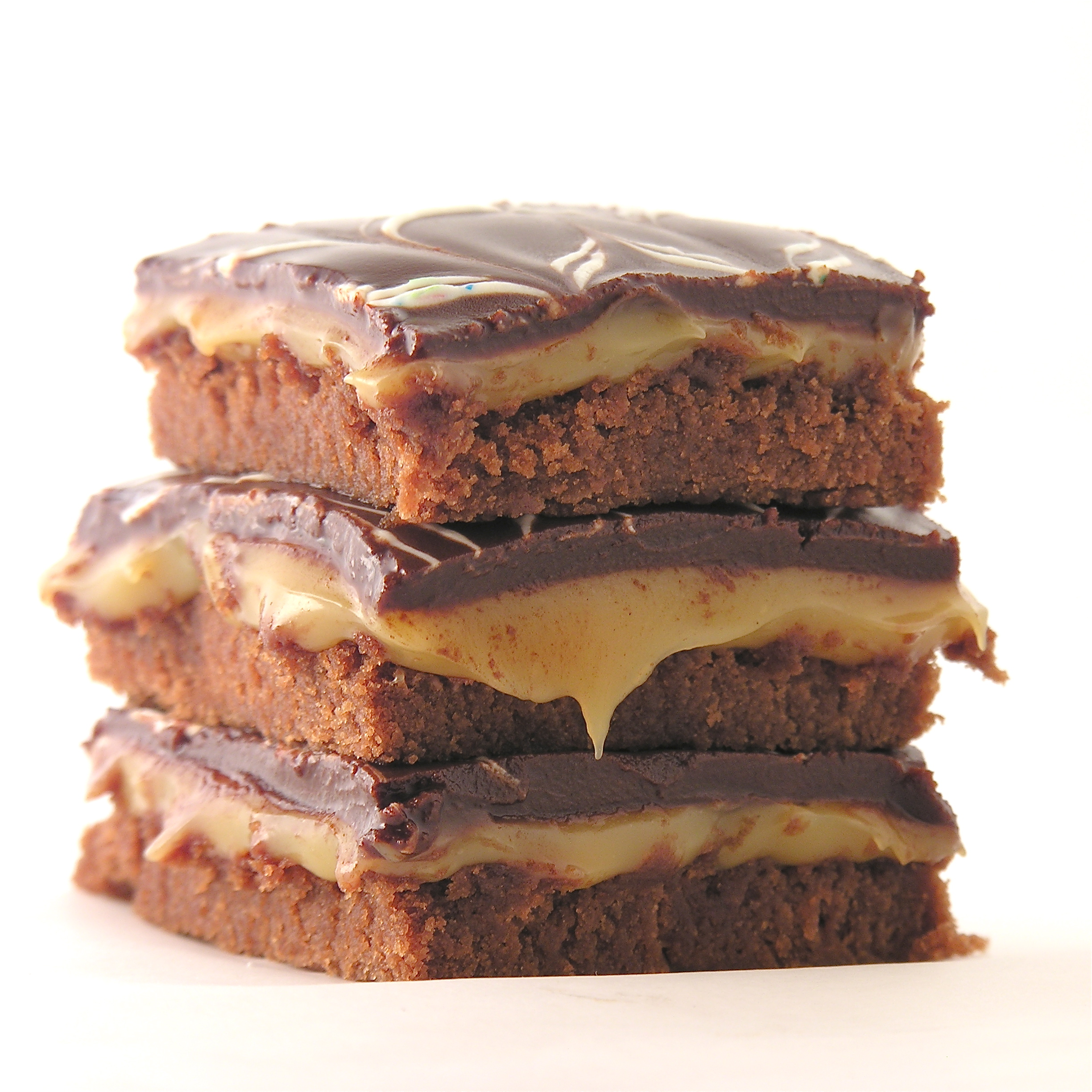 Caramel Fudge Brownies | eASYbAKED