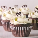 Dark Chocolate Ganache Cupcakes