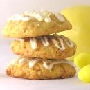 Lemon Drop Cookies with Coconut