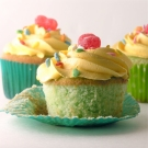 Yummy Lime Cupcakes with Lemon Butter cream Frosting!