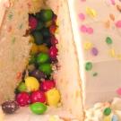 Skittles cake!