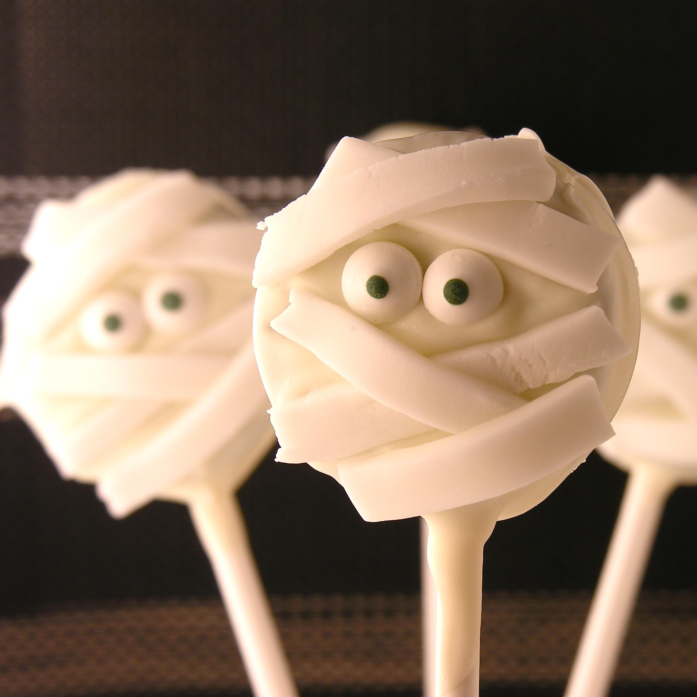 Image result for mummy oreo pops