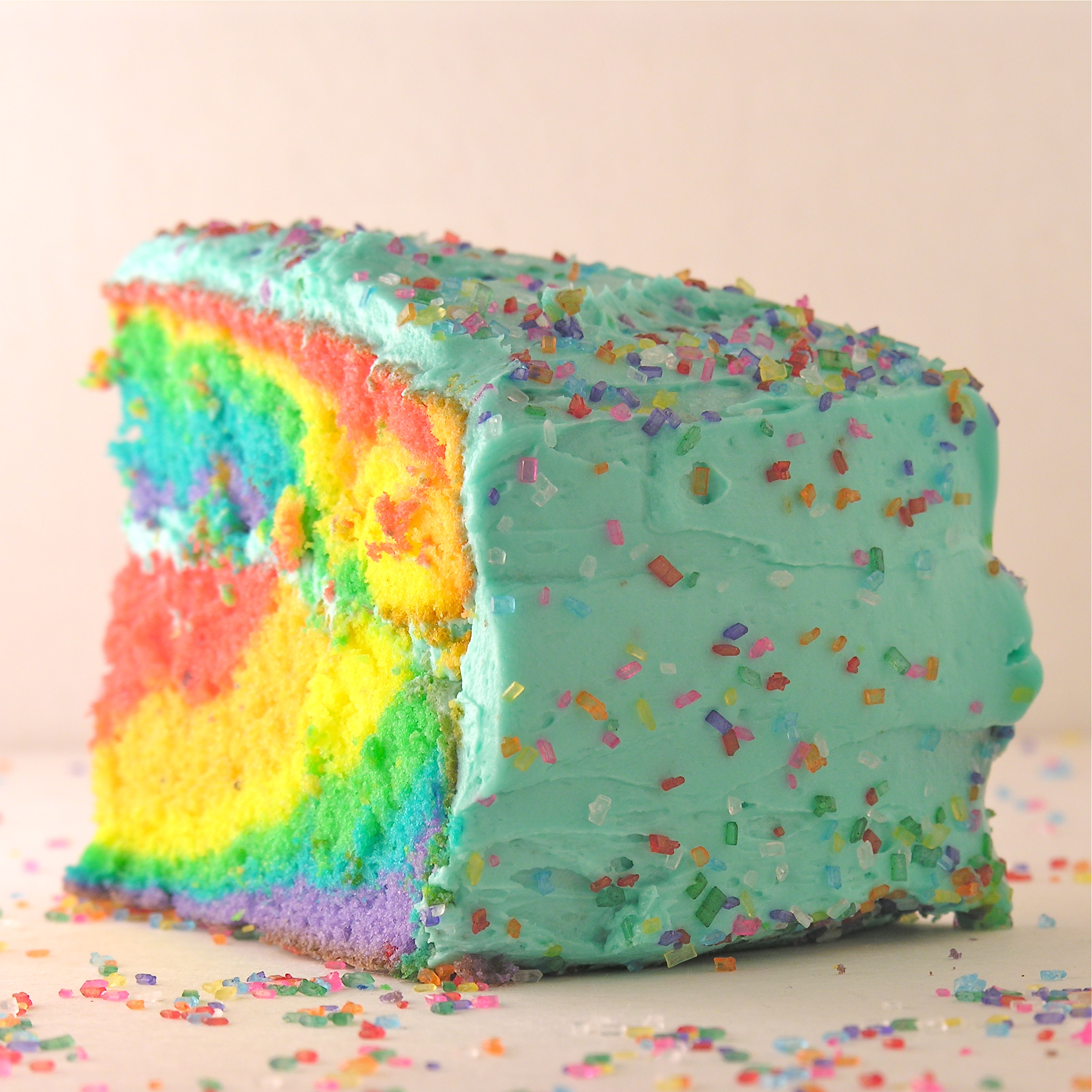 How To Tie Dye Frosting For Cake