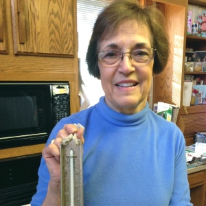 Gail and her moms candy thermometer