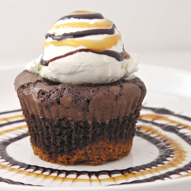 Brownie Oreo Cookie Cup