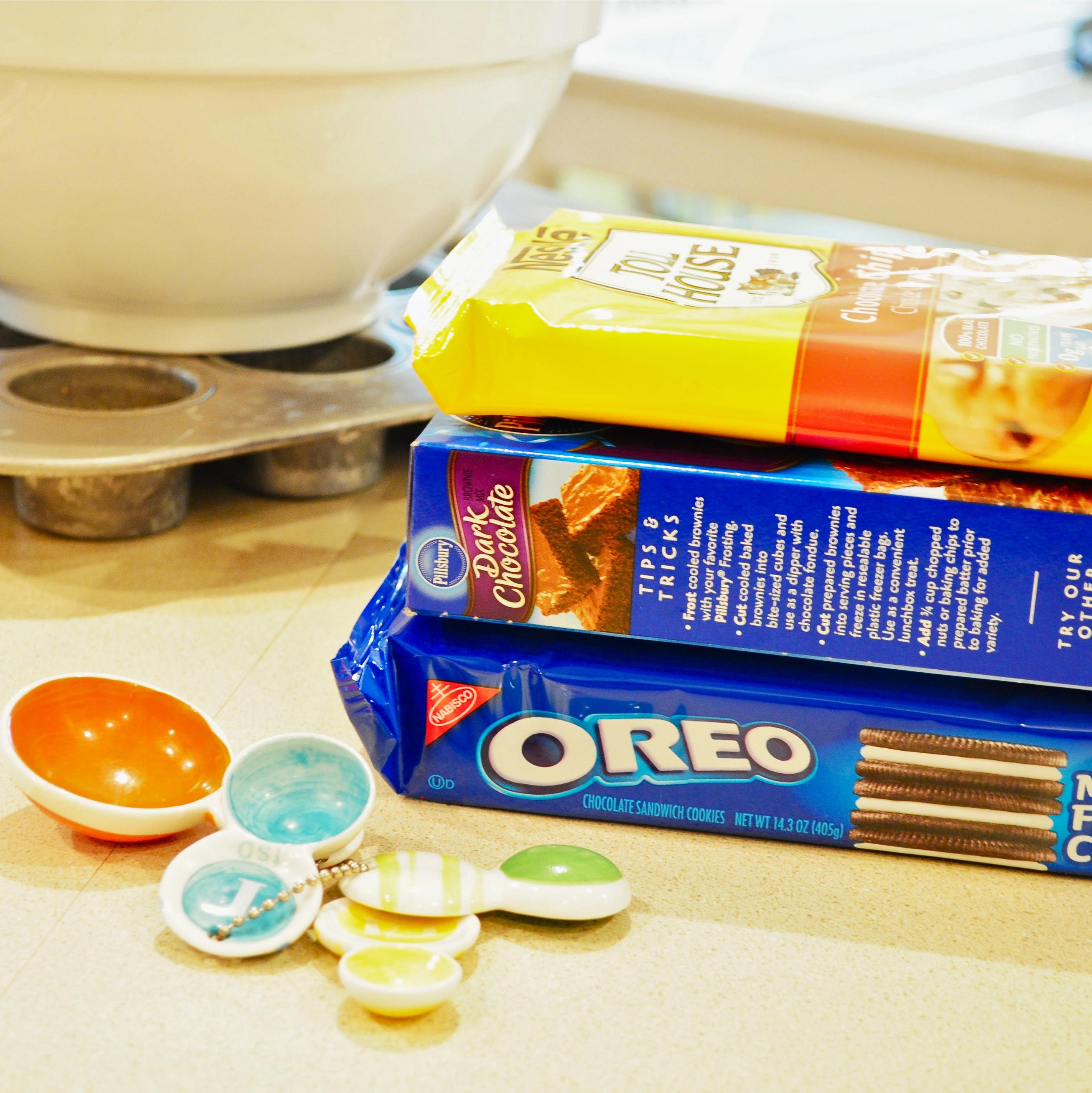 Dessert Ingredients!
