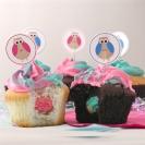 Gender reveal cupcakes5