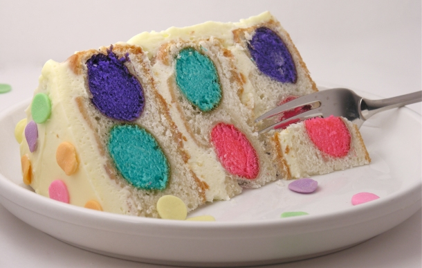 Polka Dot Cake!!!!