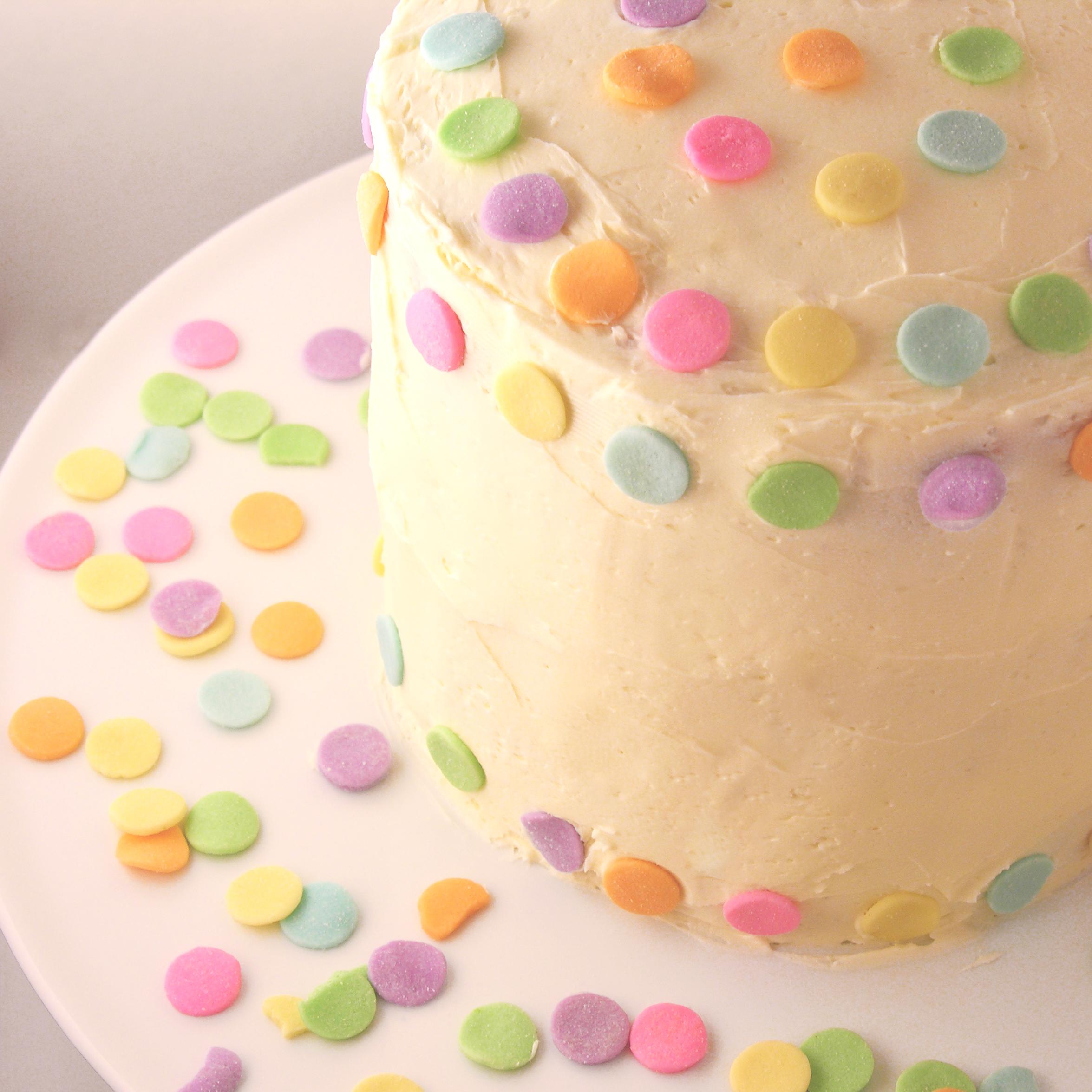 Polka Dot Cake!!! eASYbAKED