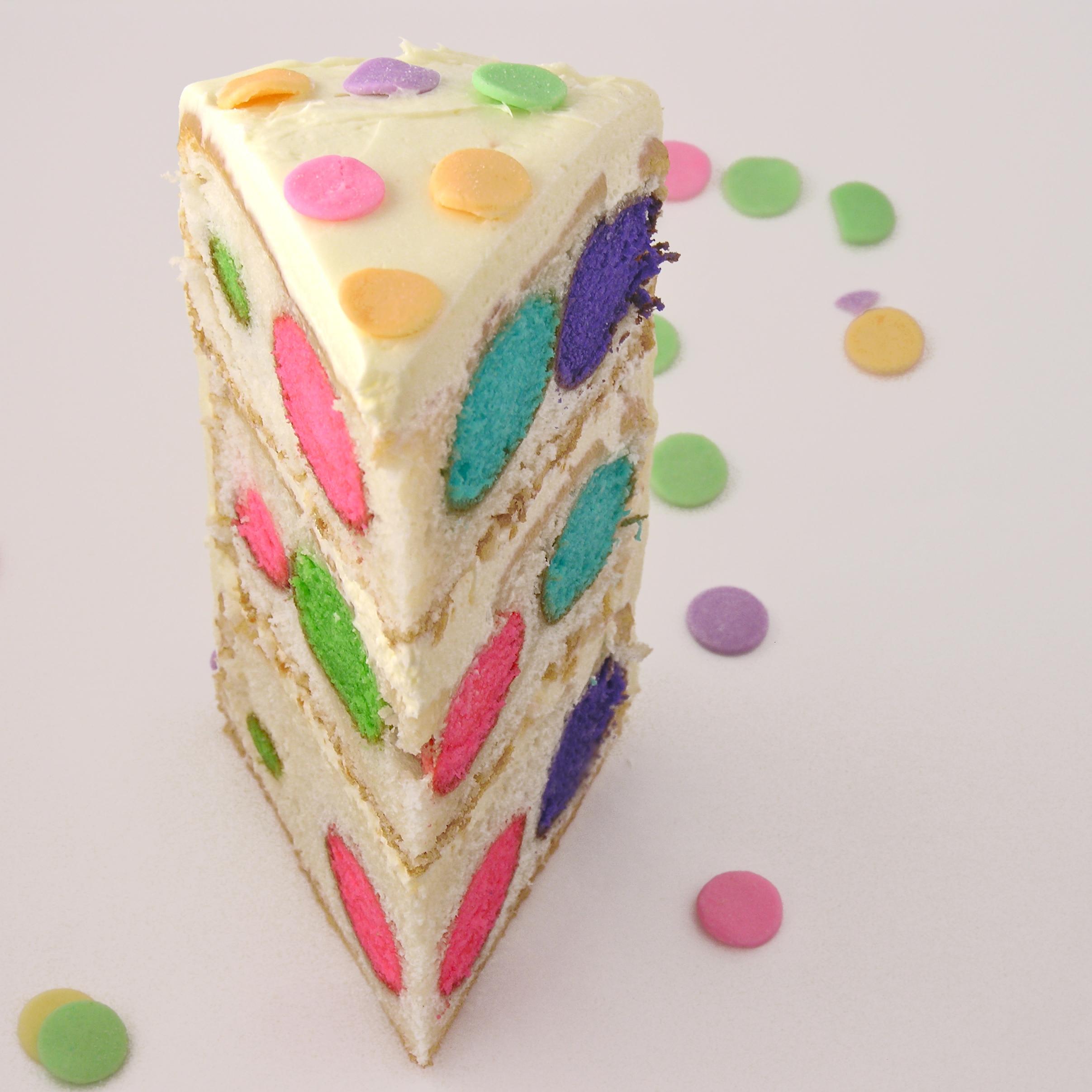 pattern inside a cake eASYbAKED