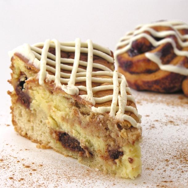 Is it cheesecake?  Is it cinnamon roll?It's BOTH!!!!!