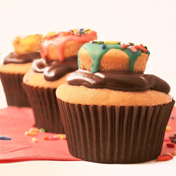Doughnut Cupcakes!