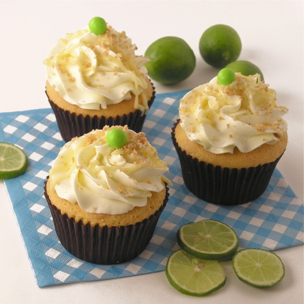 Key Lime Cupcakes | eASYbAKED