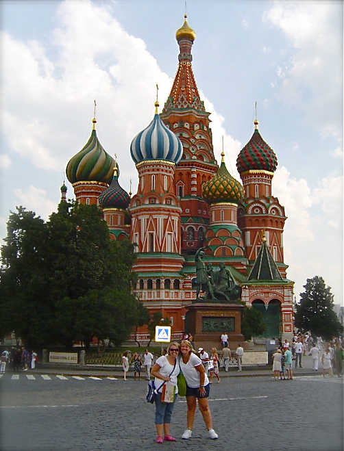 Russia with Megan
