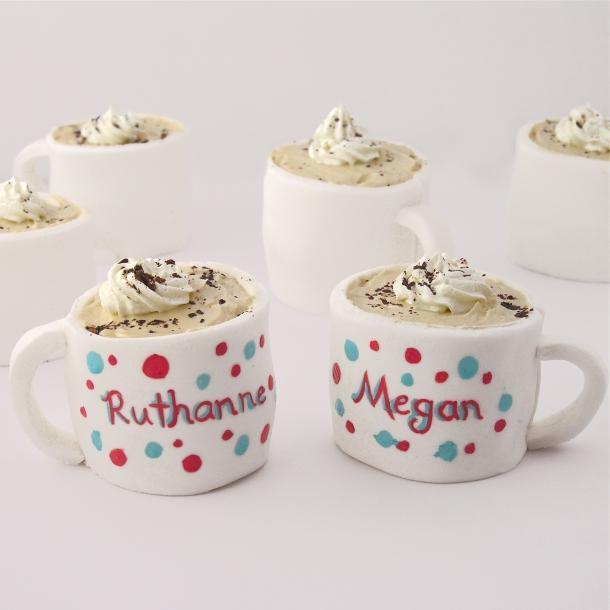 Edible mug cupcakes!!!