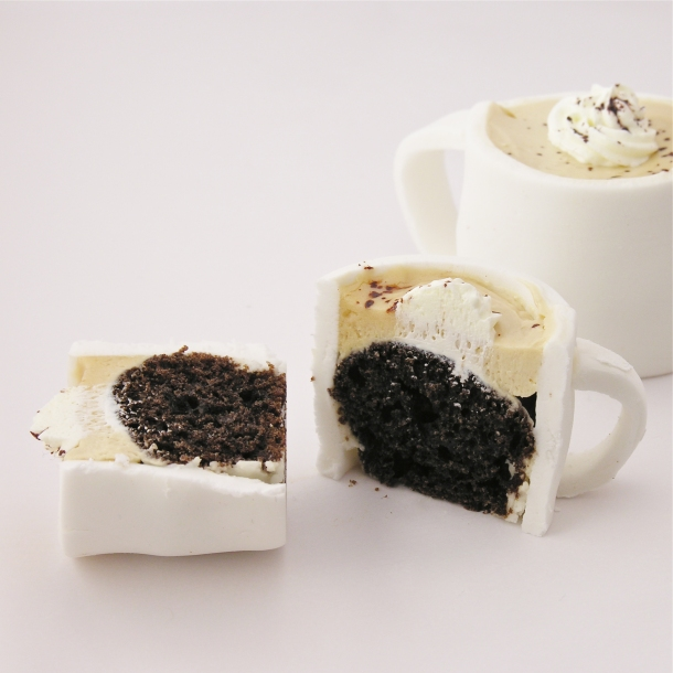 Edible mug cupcakes