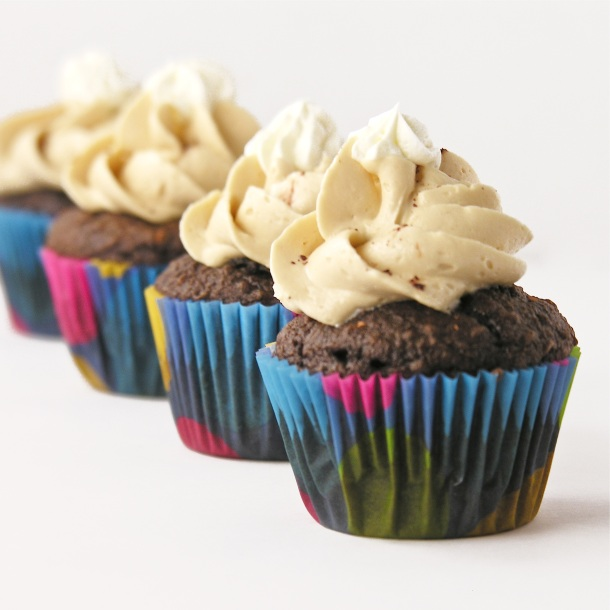 Mocha Cupcakes with Buttercream