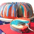 Patriotic Bundt Cake!!!!
