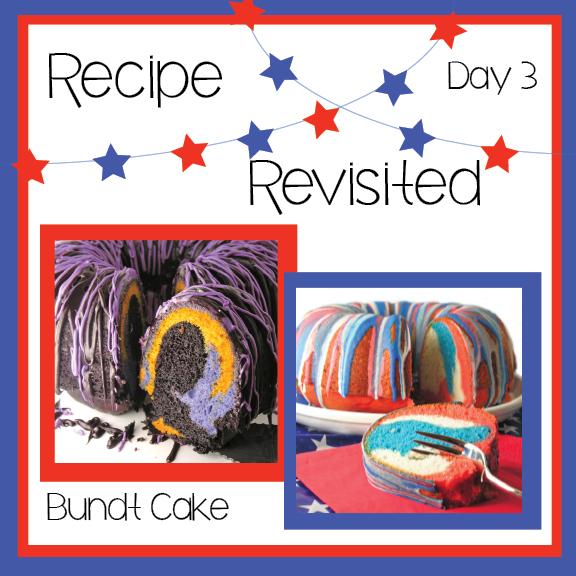 Colorful Bundt Cake