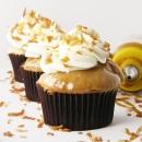Caramel Coconut Cupcakes
