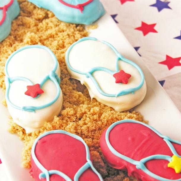 Patriotic Flip lop Cookies!!