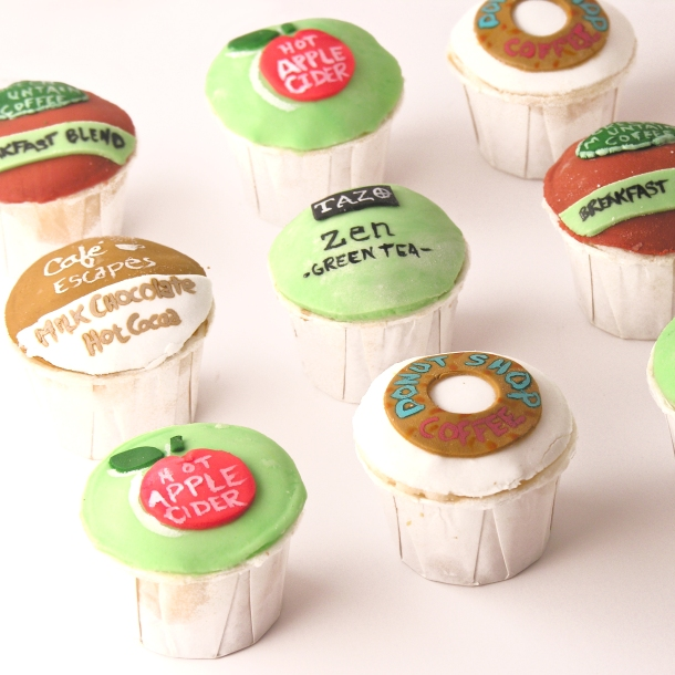 K-cup cupcakes!!