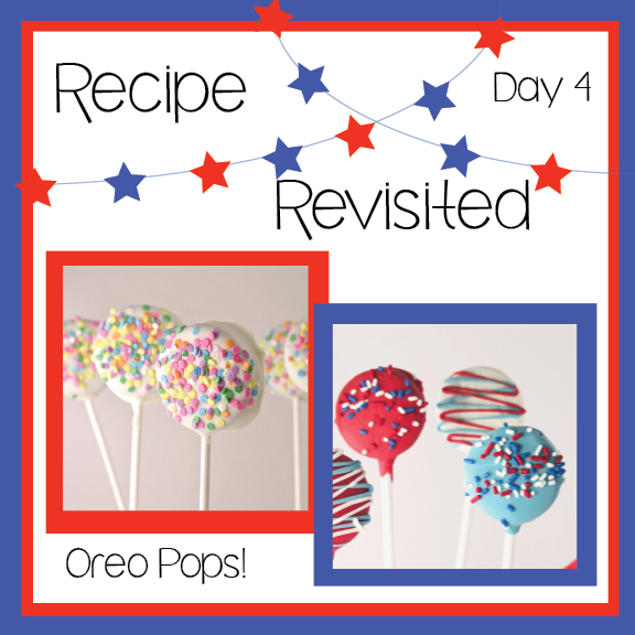 Oreo pops - a revisited recipe!