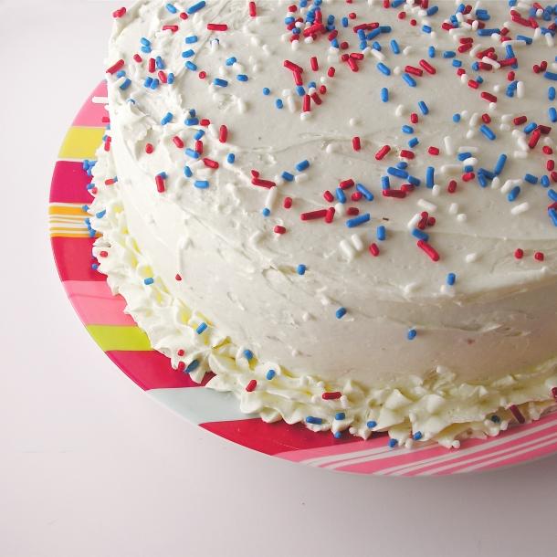 Patriotc Tie Dye Cake!!