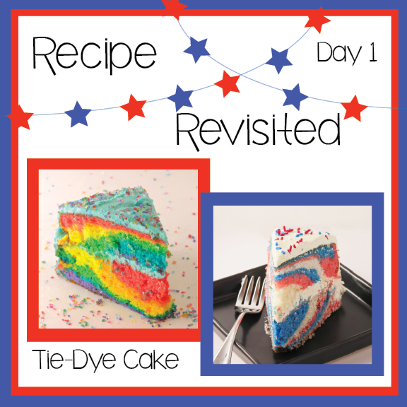 Tie Dye Cake!!