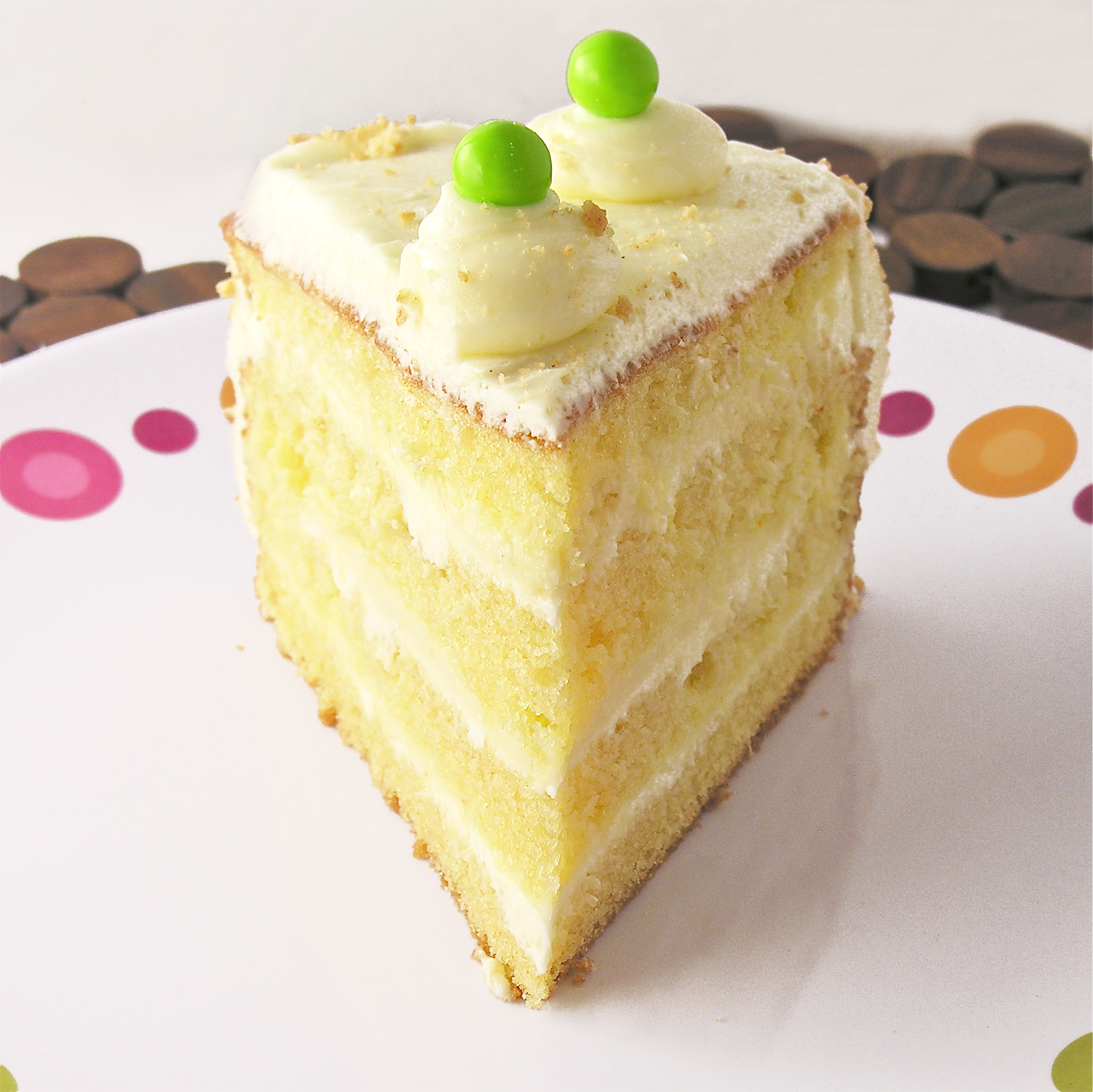 Key Lime Cake With Buttercream Frosting