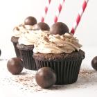 Malted Milkshake Cupcakes