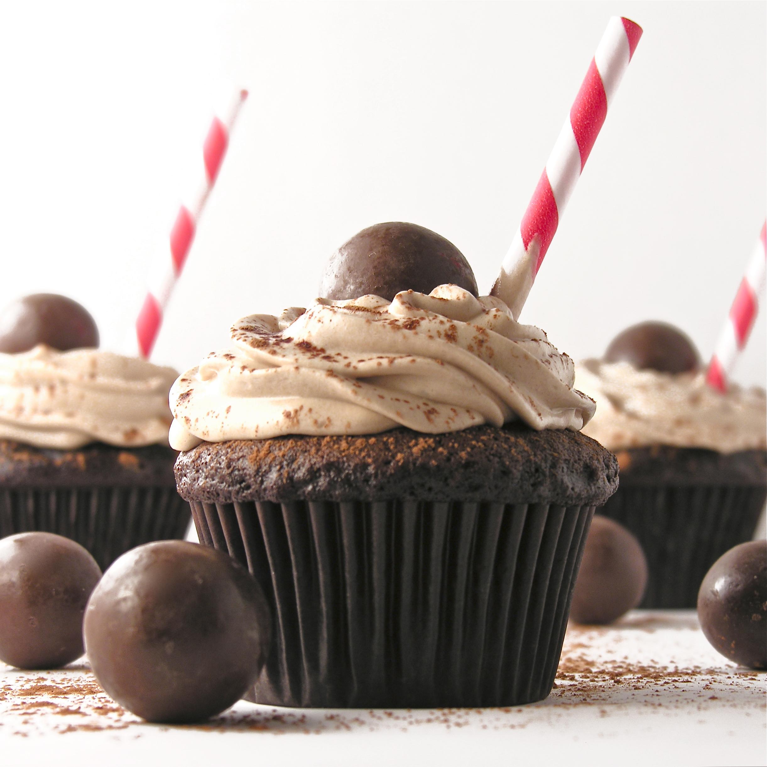Malted Milk Cupcakes!!!