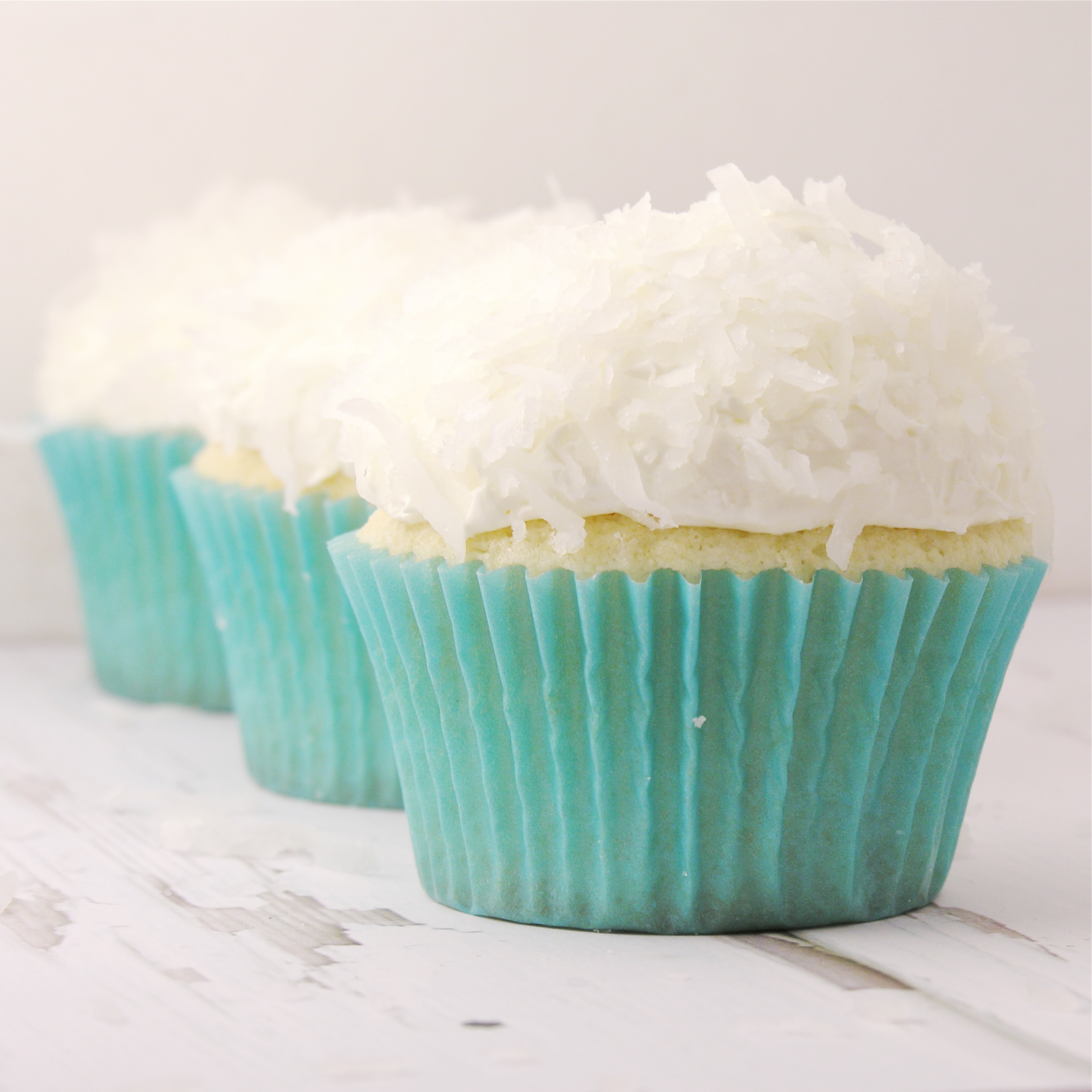Coconut Cupcakes | eASYbAKED