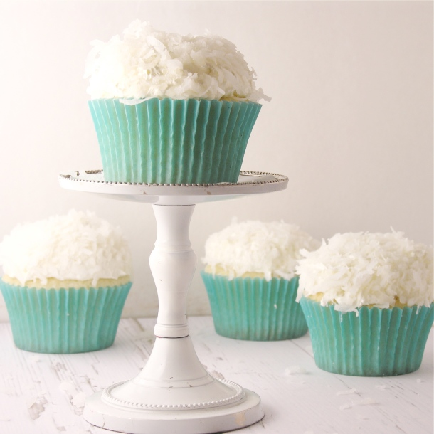 Coconut Cupcakes!!!