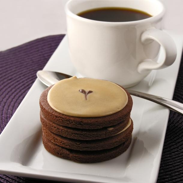 Dark Chocolate Espresso Cookies   eASYbAKED
