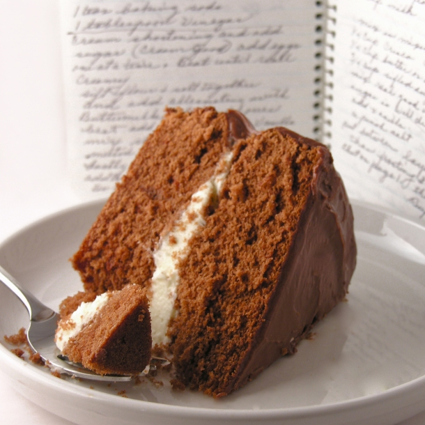 Grandma's Chocolate Cream Cake