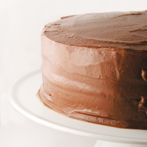 Grandma's Red Chocolate Cream Cake!
