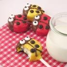 Ladybug Oreo Pops!