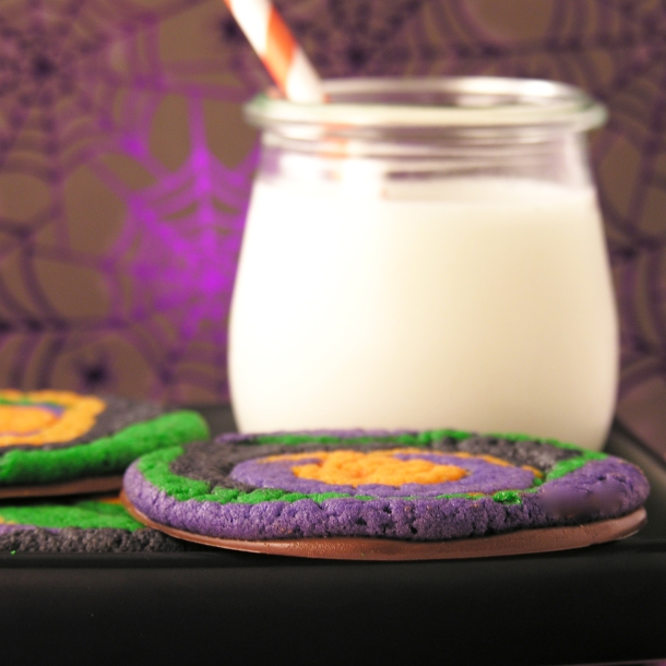 Halloween Swirl Cookie!!!!